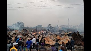 Huge fire destroys property worth millions of shillings at the