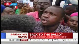 Kibra residents celebrate the Supreme Court final ruling
