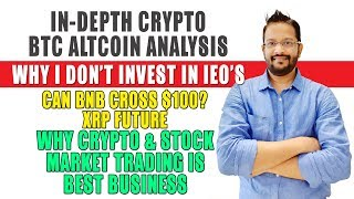 Latest Cryptocurrency Bitcoin Altcoins Analysis. Why Crypto & Stock Market is best Business.