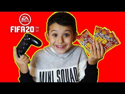 GIOCO A FIFA 20 e spacchetto bustine PREMIUM ADRENALYN XL!! - Gameplay FIFA 20