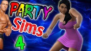 Sims 4 - Хардкорная Вечеринка С Фростом - №4
