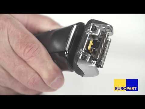 Wie tauscht man den Klingenblock eines Elektrorasierers?