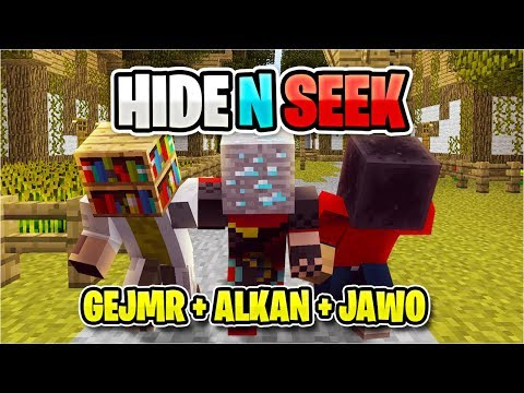 Učím ALKANA Minecraft #5 [Hide N Seek]
