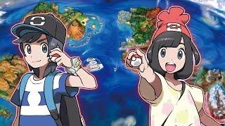 Explore the Alola Region in Pokémon Sun and Pokémon Moon!