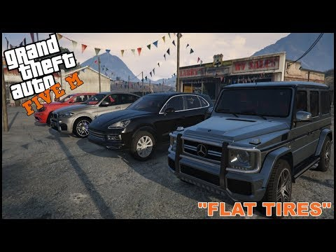 GTA 5 ROLEPLAY – FLAT TIRES EXTREME CAR REVIEW SHOW – EP. 146 – CIV