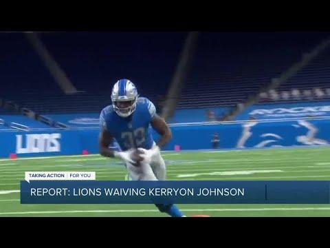 Report: Lions waive Kerryon Johnson