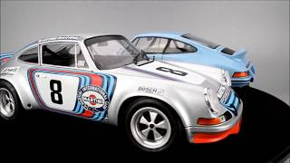 Solido Porsche 911 RSR '73 and '74 Race & Street