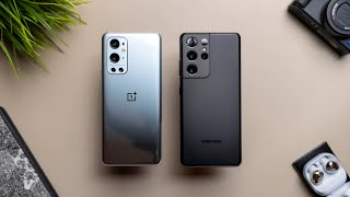 OnePlus 9 Pro vs Samsung Galaxy S21 Ultra 5G - Pick the Right One!