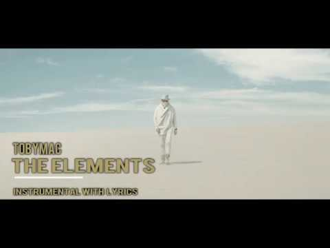 TobyMac - The Elements- Instrumental Track W/ Lyrics - Tanner Tracks Premiere