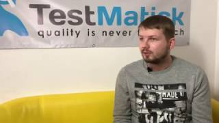 The Interview with TestMatick QA Team Lead Dmitriy