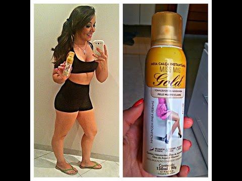 Review: Meia calça em spray - MissMag ♥ (Esconde TUDO)