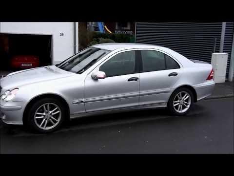 Mercedes W203 / S203  --   Spiegelblinker austauschen / reparieren