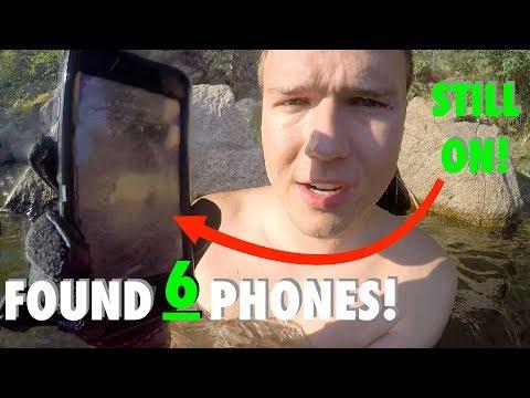 River Treasure: Found SIX PHONES, Car Keys, Sunglasses in River (Phones Returned - GREAT Reactions!)