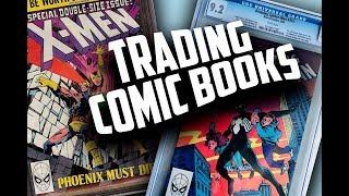 Trading Comic Books!