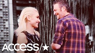 Gwen Stefani Posts Rare Pic Of Her & Blake Shelton From Their Time On 'The Voice' | Access