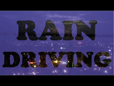 Driving in heavy rain | Driving a Ciaz on a rainy day and night | Rain Driving