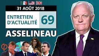 VIDÉO - Asselineau explose Macron et l'Union Européenne - Actualité
