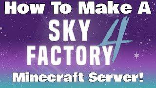 sky factory 4 server setup - TH-Clip