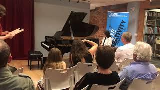 Parker's piano recital May 2018