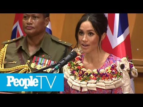 Meghan Markle's Visit To Fiji's Suva Market Abruptly Cut Short Due To Security Concerns | PeopleTV
