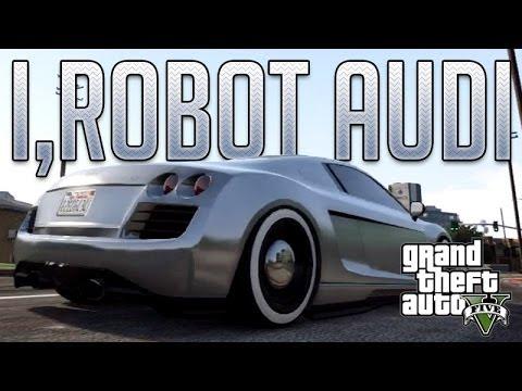 vTyoob - I,Robot Audi RSQ (Obey 9F) : GTA V Custom Car Build