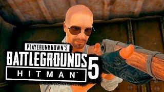 СЛИШКОМ ЛЕГКО БЕЗ БРОНИ И ШЛЕМА! -  Hitman в Battlegrounds #5