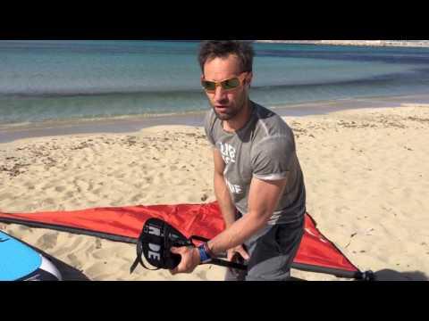 SUPwing 4.0 by Sensosports – The ultimate Stand Up Paddling Sail – WindSUP