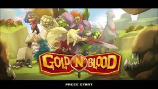 Gold'n'Blood - Beautiful Metal Slug & Castlevania Inspired Hack n Slash Action