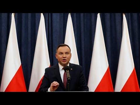 Κριτική από τον πρόεδρο της Πολωνίας στην ΕΕ – Διάλογος από τον πρωθυπουργό…