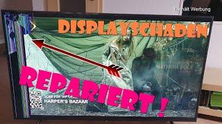 TV repair   Displayschaden   reparatur gebrochenes LCD   Display Replacement Smart Tv