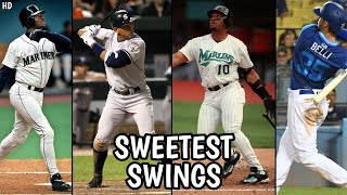 The Sweetest Swings in MLB Historyᴴᴰ
