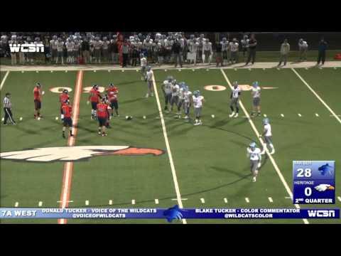 Har-Ber vs Rogers Heritage Football