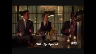Мэттью Бомер, White Collar-Psych crossover promo (rus sub)