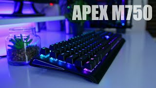 SteelSeries Apex M750 Review - It's Good, But Is It Worth The Price???