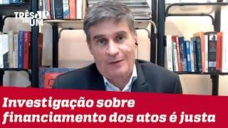Fábio Piperno: Atos do dia 7 de setembro podem ser chamados de antidemocráticos