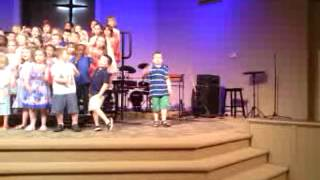 A 6 yr. old boy with Austim steals the show.