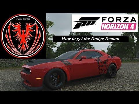 Forza Horizon 4 Let's Play : Dodge Demon!! (Part 14) [How To Unlock