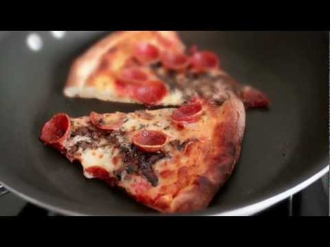 Reheat Pizza In A Skillet To Bring Back Crispy Crusts