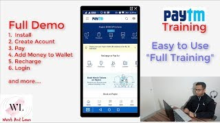 paytm full training in Hindi | How to use paytm - basic training | Full Paytm training