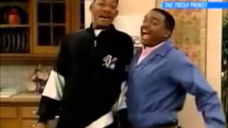 Will and Carlton screaming