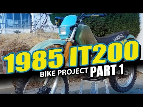1985 Yamaha IT200 - Barn Find Project Part 1 Mp3