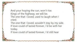 Chris Isaak - Kings of the Highway Lyrics