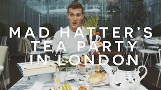 MAD HATTERS TEA PARTY IN LONDON - SANDERSON