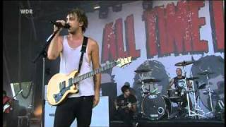 all time low - poppin' champagne (live  @ Area4 2010)