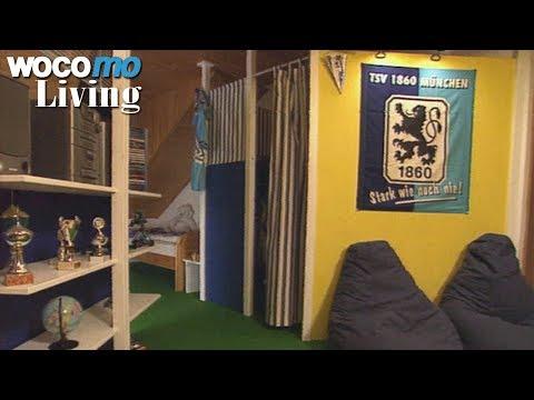 Fußball-Kinderzimmer gestalten - Tapetenwechsel (BR) | Staffel 2 - Folge 8