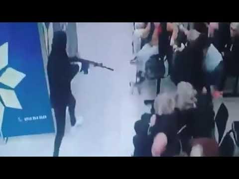 El video del robo al Banco Industrial desde adentro
