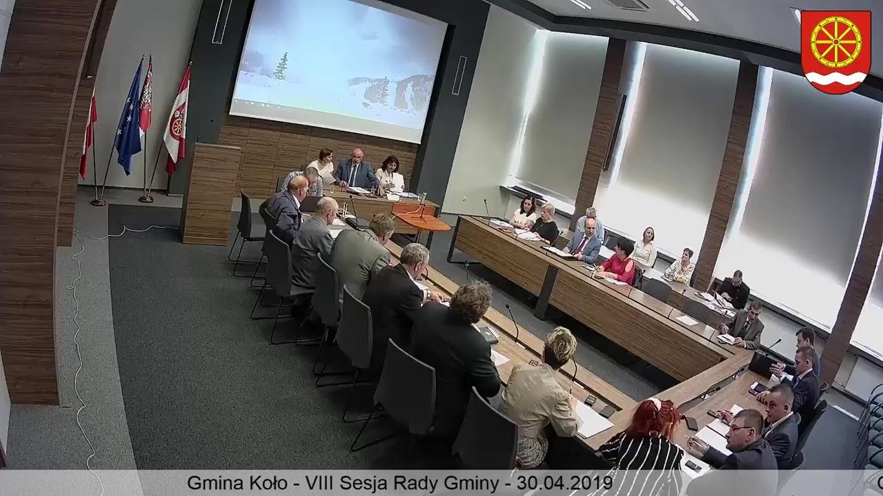 Zdjęcie do VIII Sesja Rady Gminy Koło