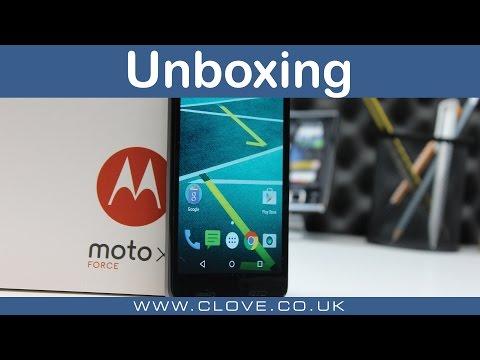 Motorola Moto X Force Unboxing