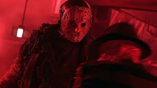 Fight in Krueger's world | Freddy vs Jason