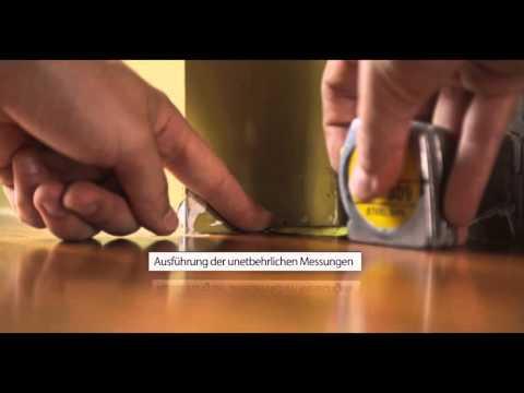 [DQ-PP] Selbstmontage von Abschlussleiste für Arbeitsplatten- Anleitungsvideo